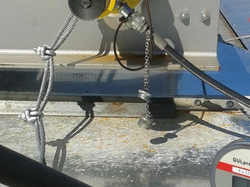 Teste ponto de ancoragem